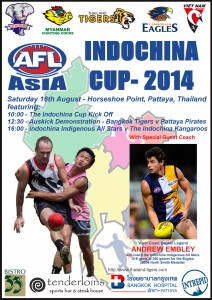 The 2014 Indochina Cup promises to be the biggest yet in its 8 year history.