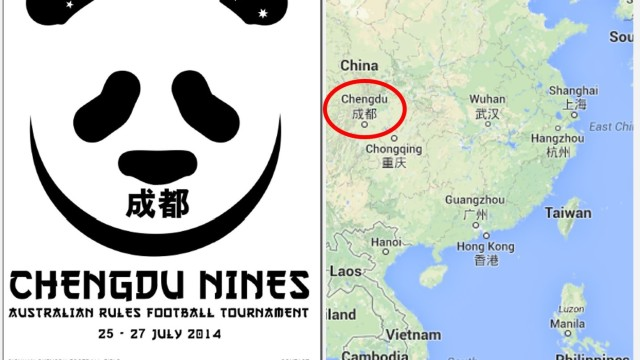 Inaugural Chengdu Nines to fly a volunteer ump to Western China this weekend!