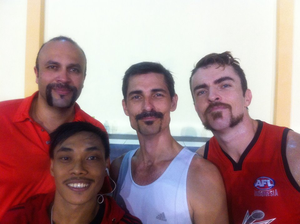 AFL Asia's Movember finishes tomorrow.