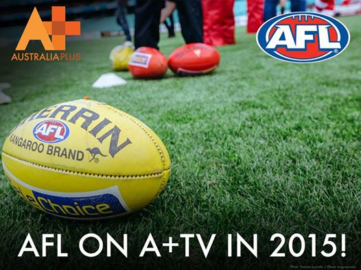 AFL coverage to continue in 2015 on A+