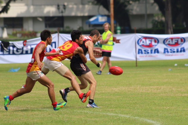 China tackle