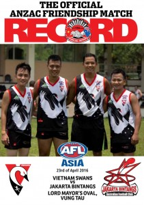 The Swans' famous ANZAC Footy Record will this year feature their new local players