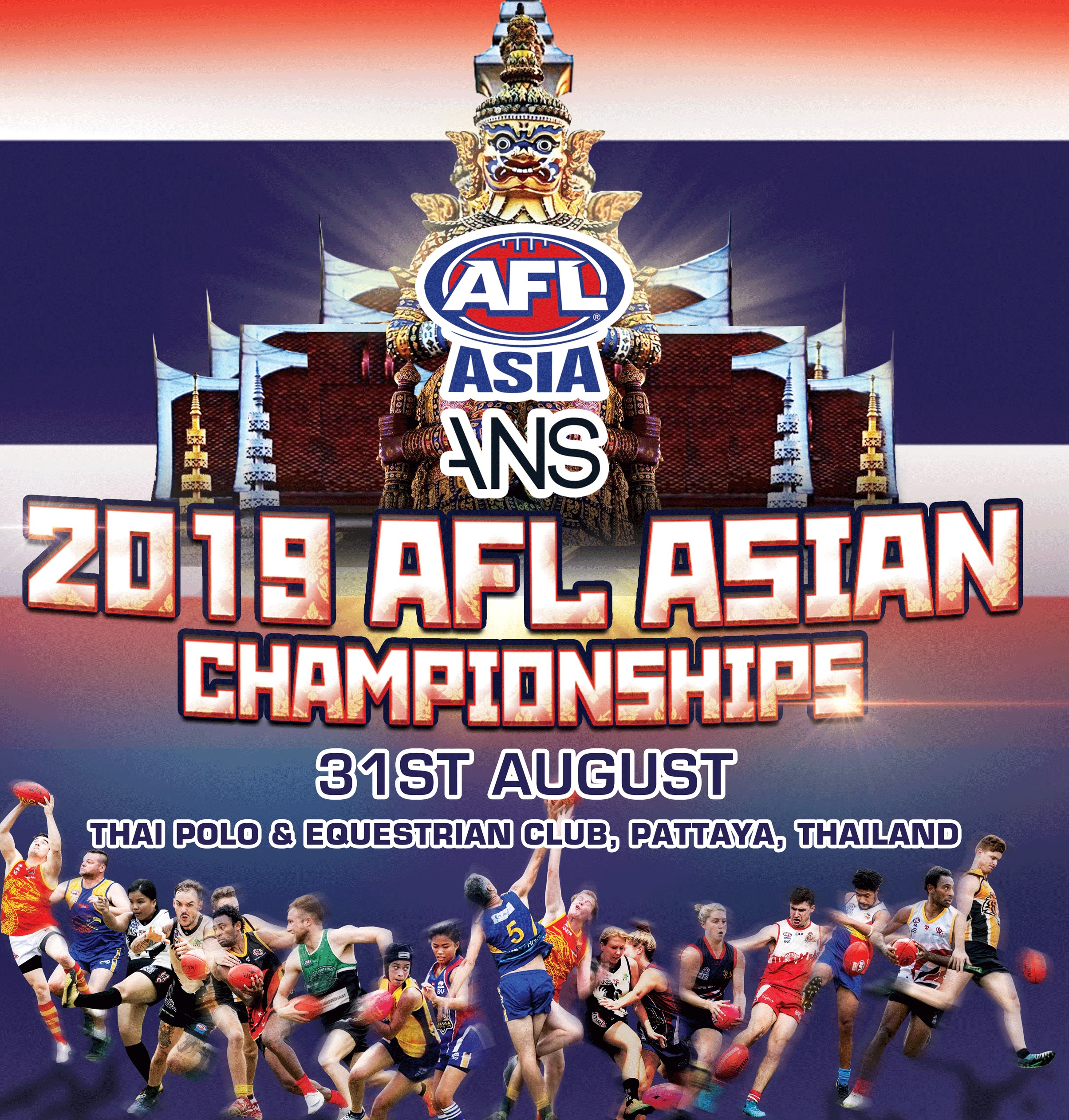 AFL Asian Championships 2019 Thailand