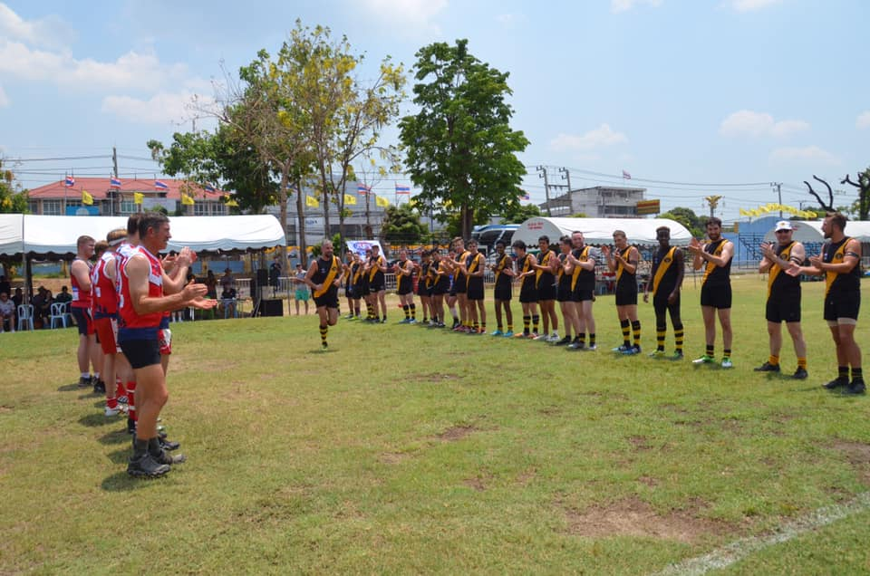 Samo 100th game Kanchanaburi 2019 ANZAC Day game