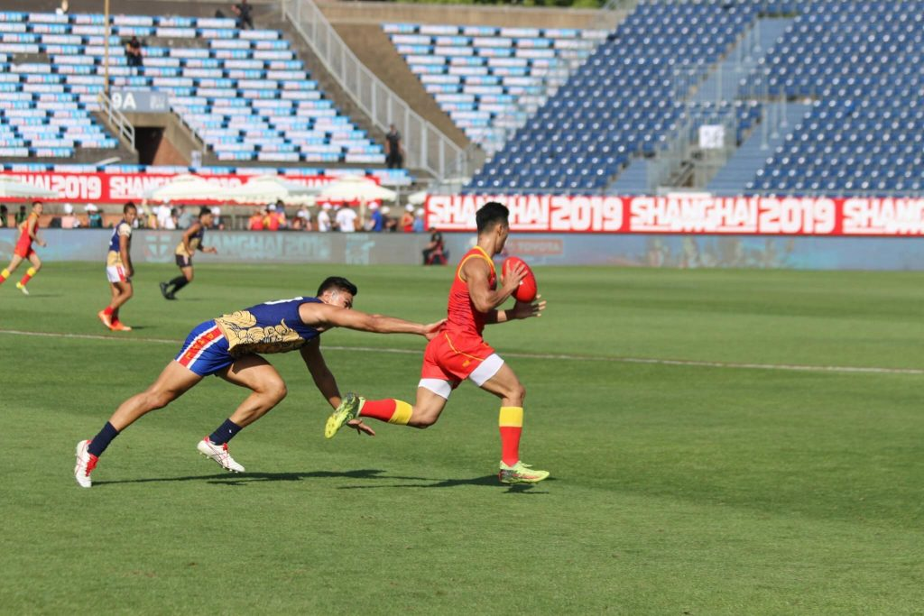AFL Asia Lions fighting in Shanghai Showdown Curtain Closer