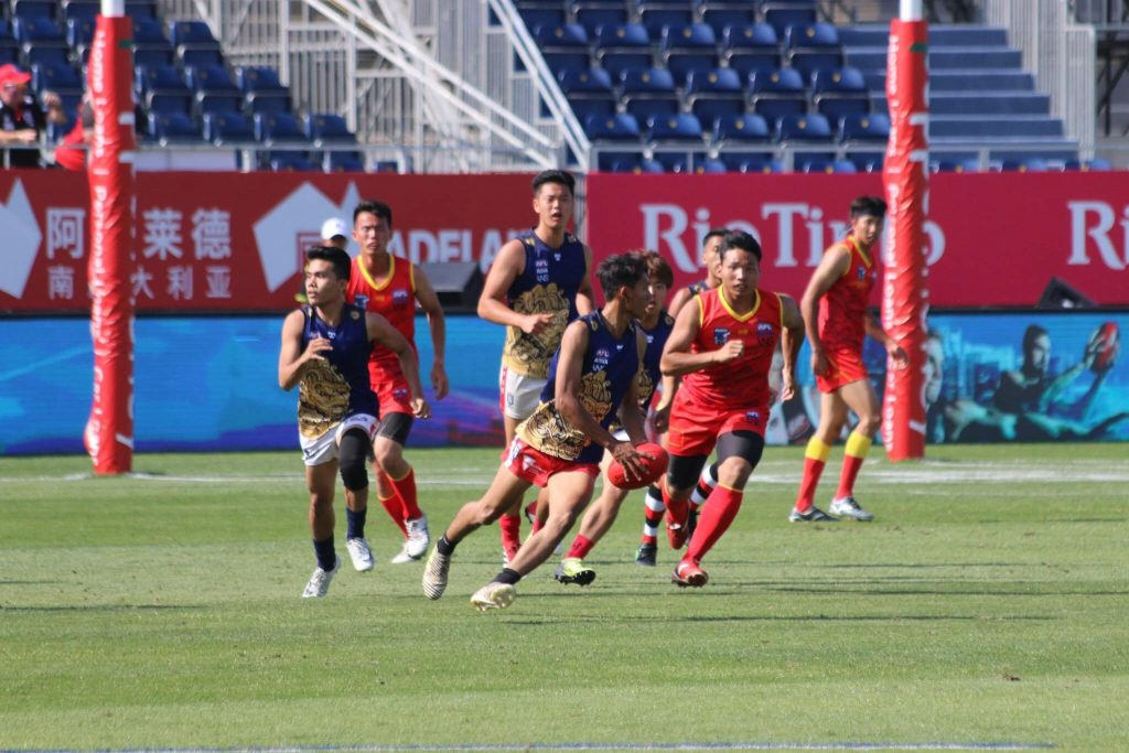 AFL Asia Lions win 2019 shanghai showdown curtain closer