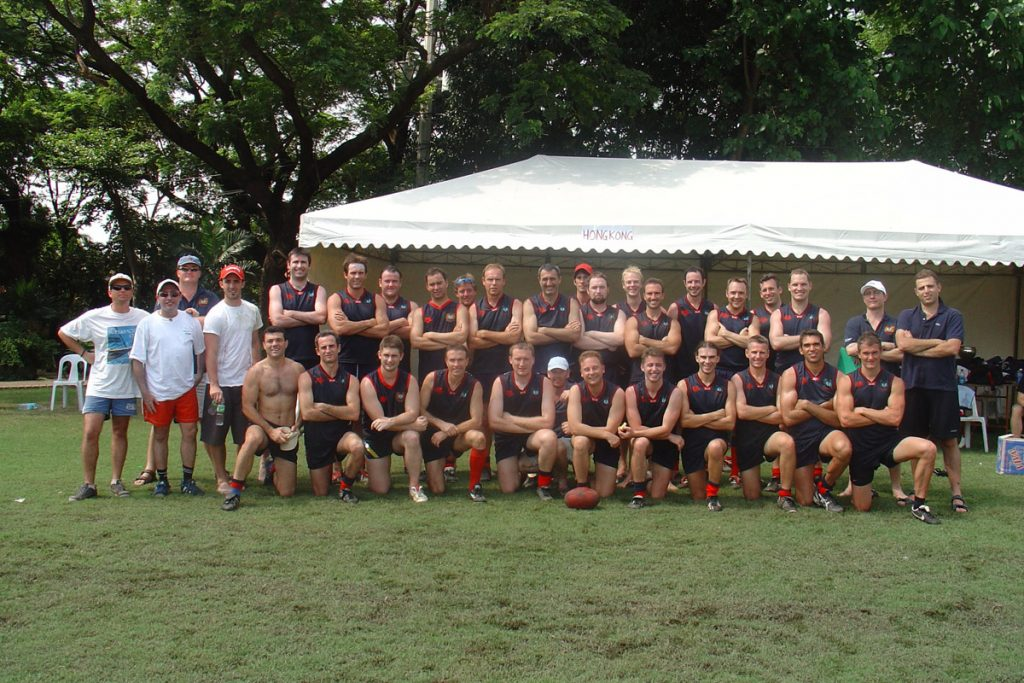 2005 AFL Asian Champs Hong Kong Dragons