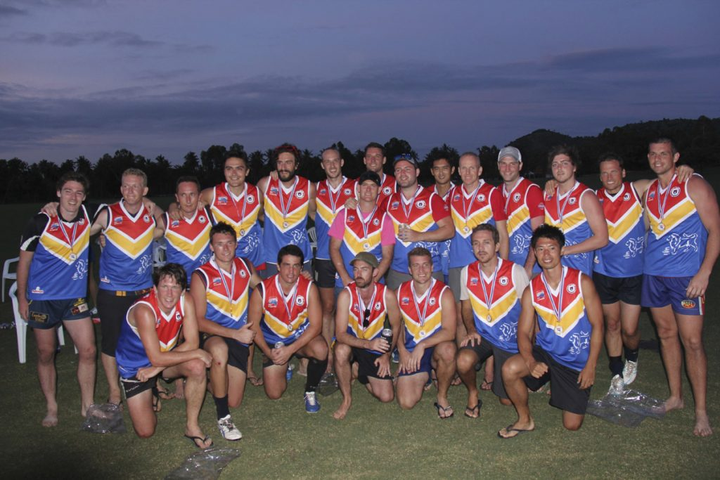 2013 All Asian team in Pattaya.