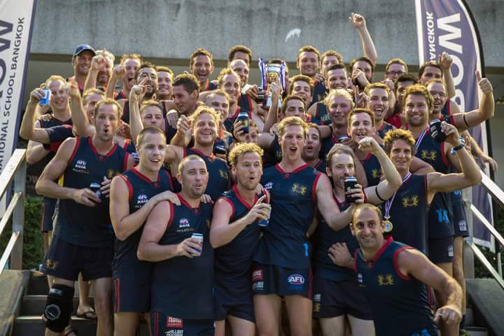 2015 AFL Asian Championships winners - Hong Kong Dragons