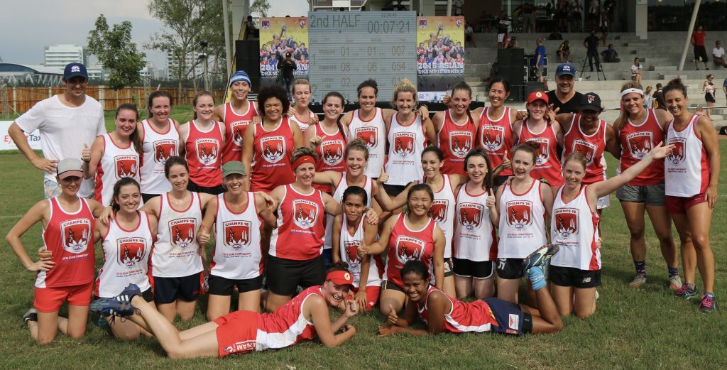 2016 Saigon AFL Asian Champions first ever AFLW Women's match