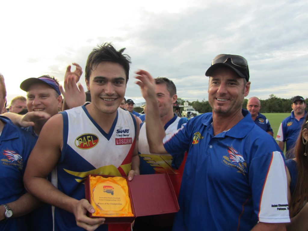Eagles legend Evan Spargo was player of the tournament in 2013!