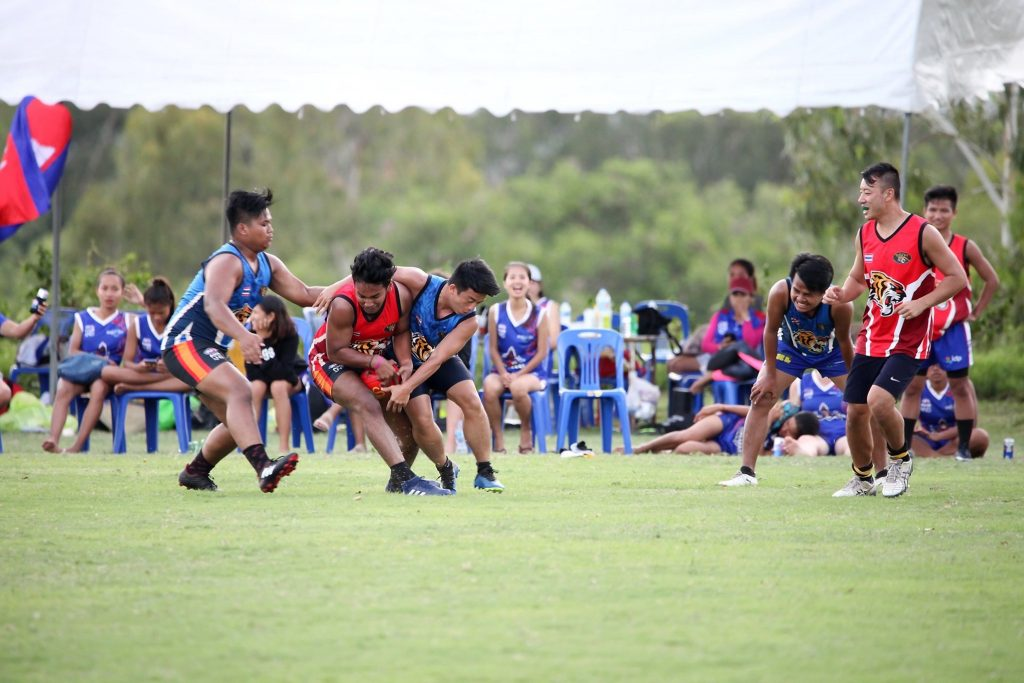 Japan Warriors playing in Division 2 2019 AFL Asian Championships