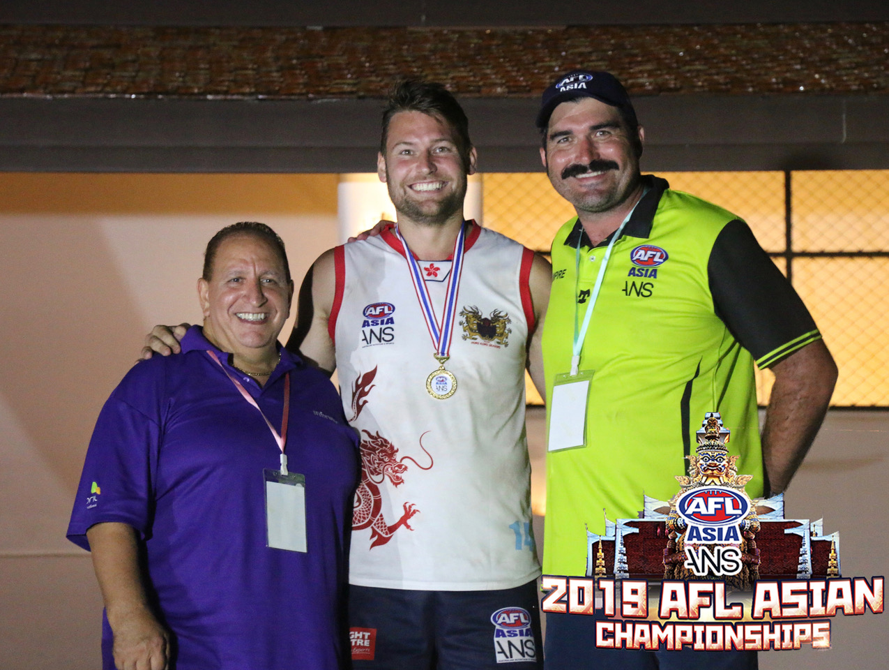 Sam Agar Player of the 2019 AFL Asian Championships