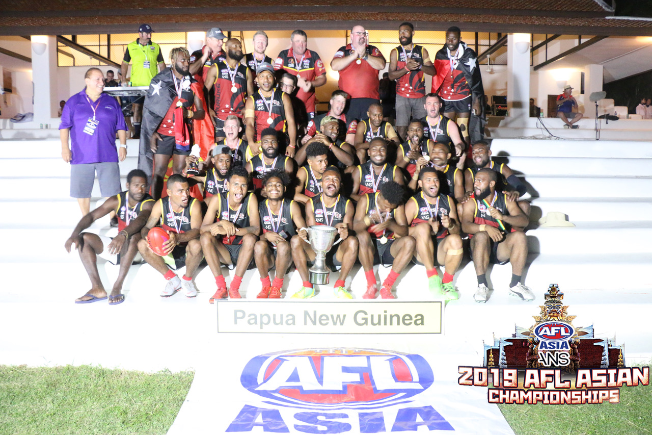 PNG Maruks win AFL Asian Championships 2019 in Pattaya